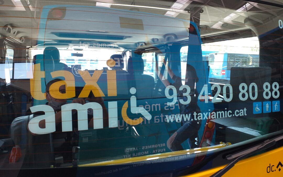 TAXI AMIC RENEWS ITS CORPORATE IMAGE